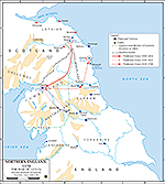 Anglo-Norman Rebellion 1173-1174: Second Scottish Invasion