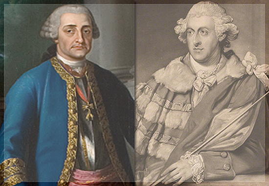 D'Abarca and Manchester on Behalf of Charles III and George III