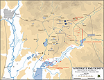 Map of the Battle of Austerlitz - December 2, 1805