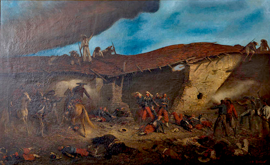 Battle of Camerone � April 30, 1863