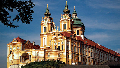 Benedictine Abbey of Melk, Austria