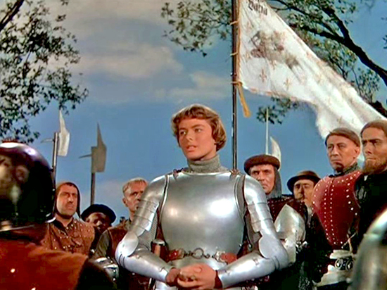 Ingrid Bergman is Joan of Arc, 1948