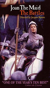 Sandrine Bonnaire is Joan of Arc, 1994