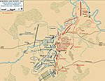 Map of the Battle of Borodino: 0930 Hours - September 7, 1812