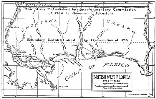 British West Florida 1763-1783