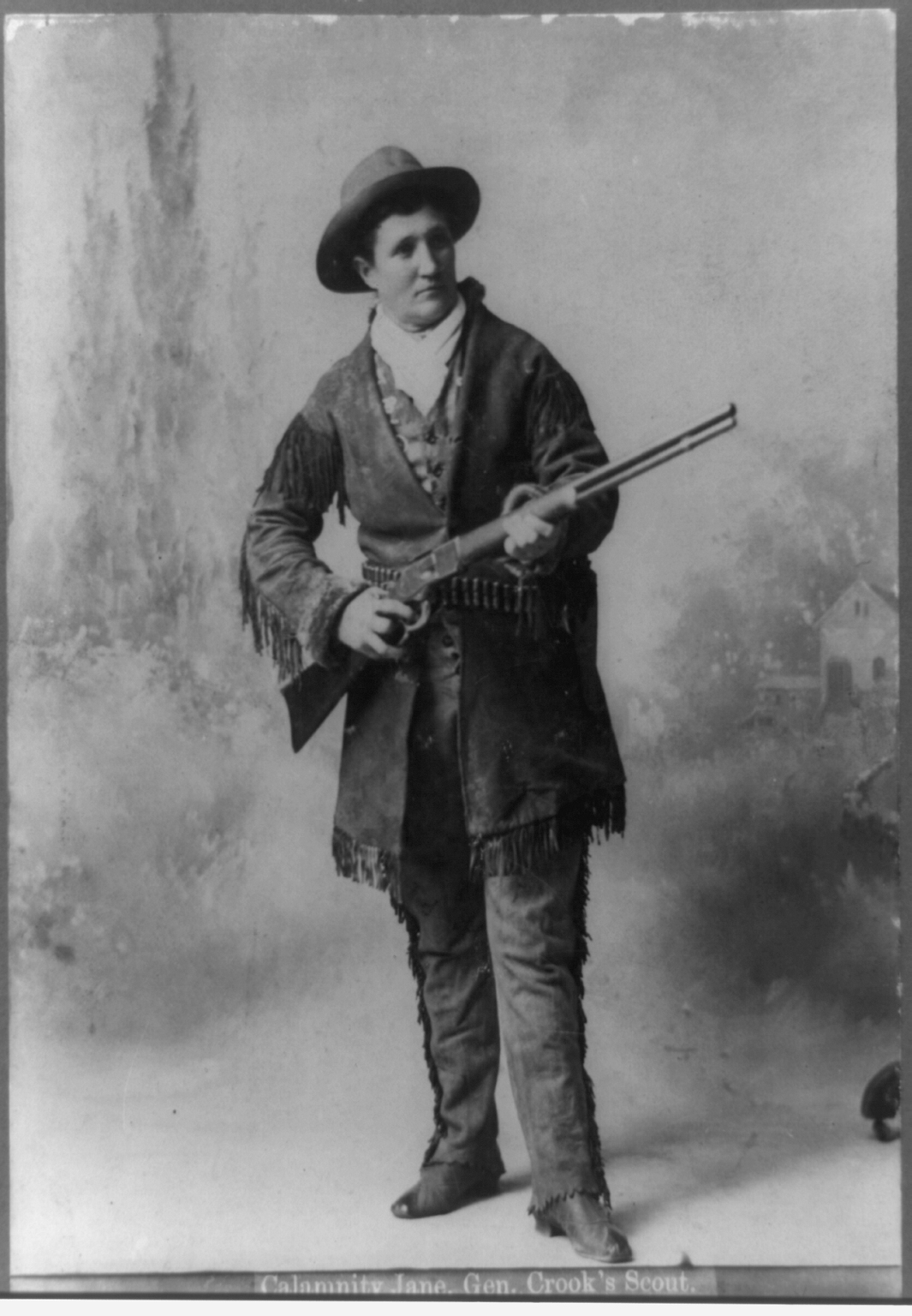 Photograph of Calamity Jane.