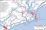 Map of the American Revolution: Campaigns 1780