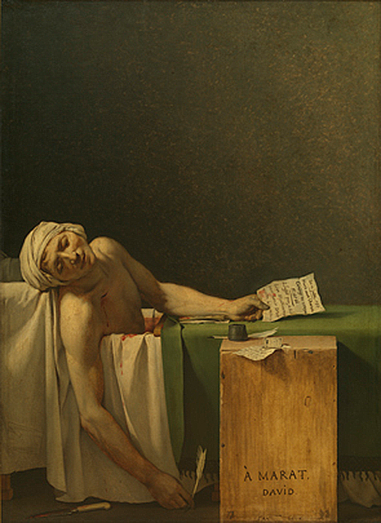 Death of Marat / Marat Assassiné