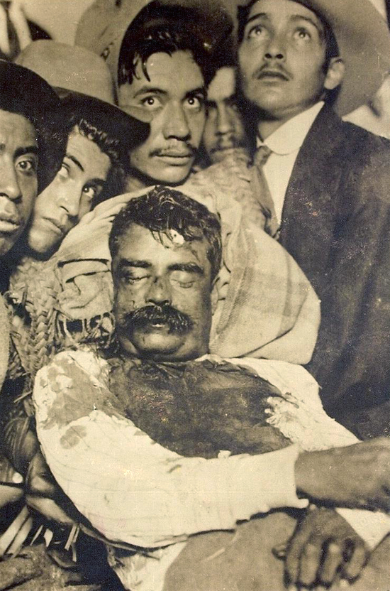 EMILIANO ZAPATA DEAD - APRIL 10, 1919