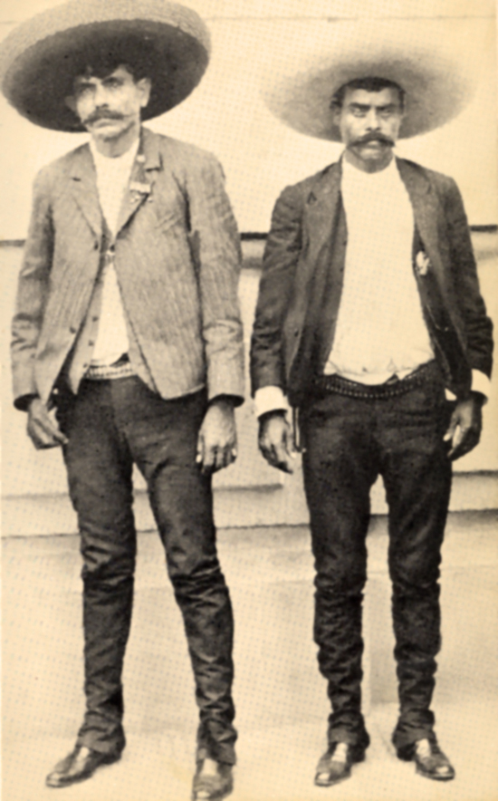 Eufemio Zapata and his brother Emiliano
