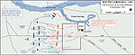 Map of the Battle of Eutaw Springs - September 8, 1781