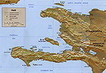 Map of Haiti 1999