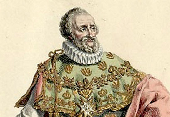 Henry IV 1553-1610, King of France and Navarre