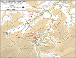 Map of the Battle of Jena-Auerstadt - October 14, 1806