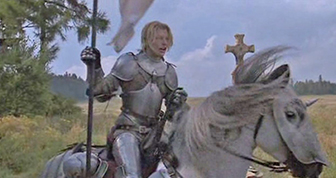 Milla Jovovich is Joan of Arc, 1999