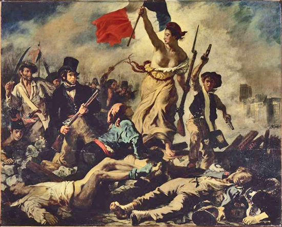 July 28: Liberty Leading the People - Eugène Delacroix