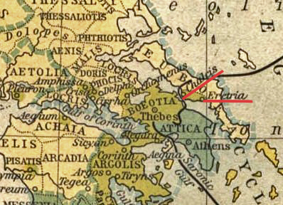 Chalcis and Eretria on Euboea, Ancient Greece