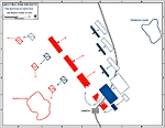 Decisive Action in the Battle of Leuctra 371 BC - Map