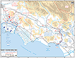 WWII Italy, Anzio-Cassino Region, January 17 - February 19, 1944