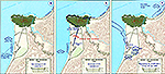 History Map of Beirut and Environs 1958.