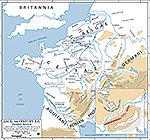 57 BC / 56 BC Caesar's Campaign Against the Belgae