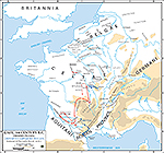 54 BC Outbreak of the Gallic Revolt