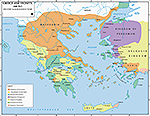 200 BC Greece and Vicinity: Second Macedonian War