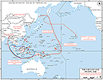 World War II: The Far East and the Pacific 1941. Major Japanese War Objectives and Planned Opening Attacks.