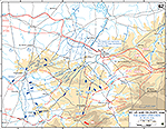 Normandy Invasion. Saint-L� (St. Lo) and Vicinity. Operation Cobra, July 25-29, 1944.