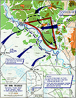 History Map of the Vietnam War. The Iron Triangle, Operation CEDAR FALLS, January 4-24, 1967.
