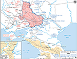 Southwest Russia. German Summer Offensive. Operations May 7-July 23, 1942