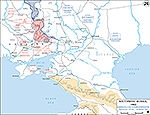 1943, February 19 - March 18 - Southwest Russia, Soviet Winter Offensive, German Counter-Offensive