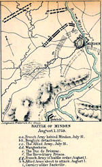 Battle of Minden - August 1, 1759