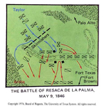 Battle of Resaca de la Palma - May 9, 1846