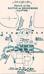 Battle of Sedgemoor - July 16, 1685 (July 6, Old Style)