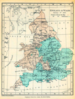 England and Wales January 1, 1643