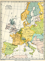 Western Europe in the Time of Elizabeth.