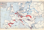 Principal Seats of War in Europe 1700-1721