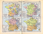 "France in 1789. The ""Gouvernements"", The Generalities or Intendancies, The Salt Tax, and Laws and Courts."