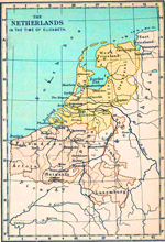 The Netherlands in the time of Elizabeth.