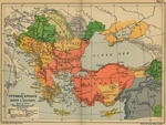 Map of the Ottoman Conquest