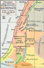 Palestine under Joshua and the Judges 1250-1125 BC