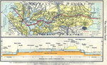 The Panama Canal 1911. The Canal Zone. Profile of the Canal.