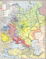The Growth of Russia in Europe, 1300-1796