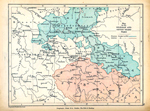Germany, illustrating the Silesian and Seven Years' Wars