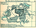 The Revolt in Switzerland 1524 - 1531.