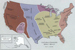 Area of today's United States 500 B.C. - 500 A.D.