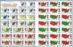 United States - Presidential Elections and Political Parties 1796 - 1968