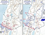 Map of the Battle of Megiddo - Sep 19-21, 1918