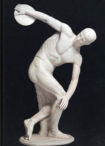 Myron's Discus Thrower With Correct Head